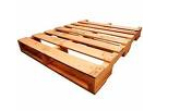 4 Way Double Deck Non Reversible Wooden Pallet