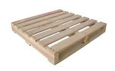 2 Way Double Deck Non Reversible Wooden Pallet