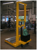 Combined Electro Cum Manual Hydraulic Stacker