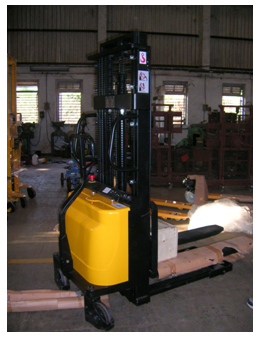 Semi Electric Stacker Or Battery Lift Stacker